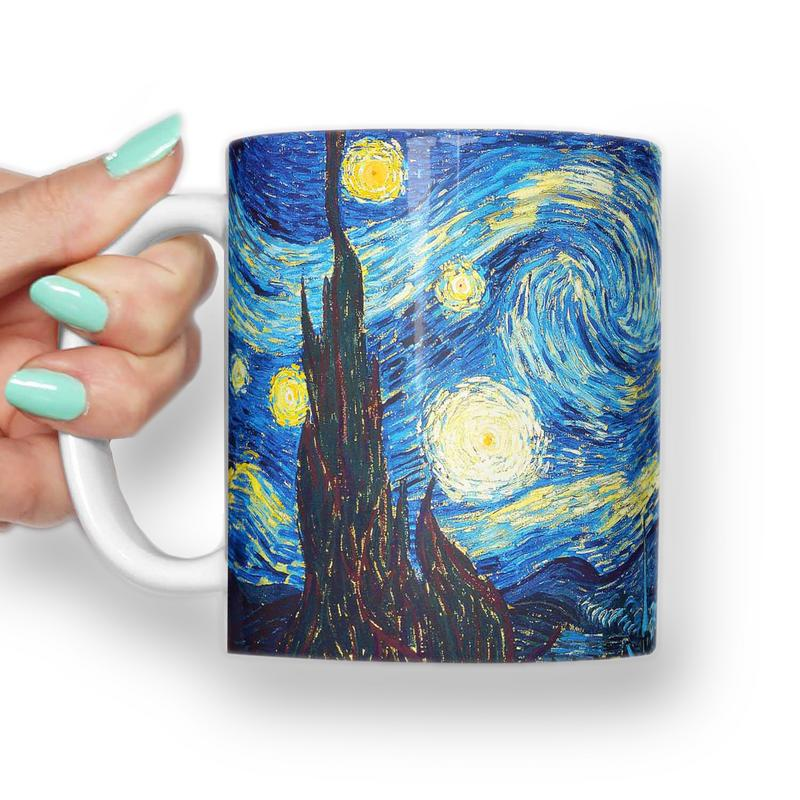 Great wave off Kanagawa, Van Gogh Mug
