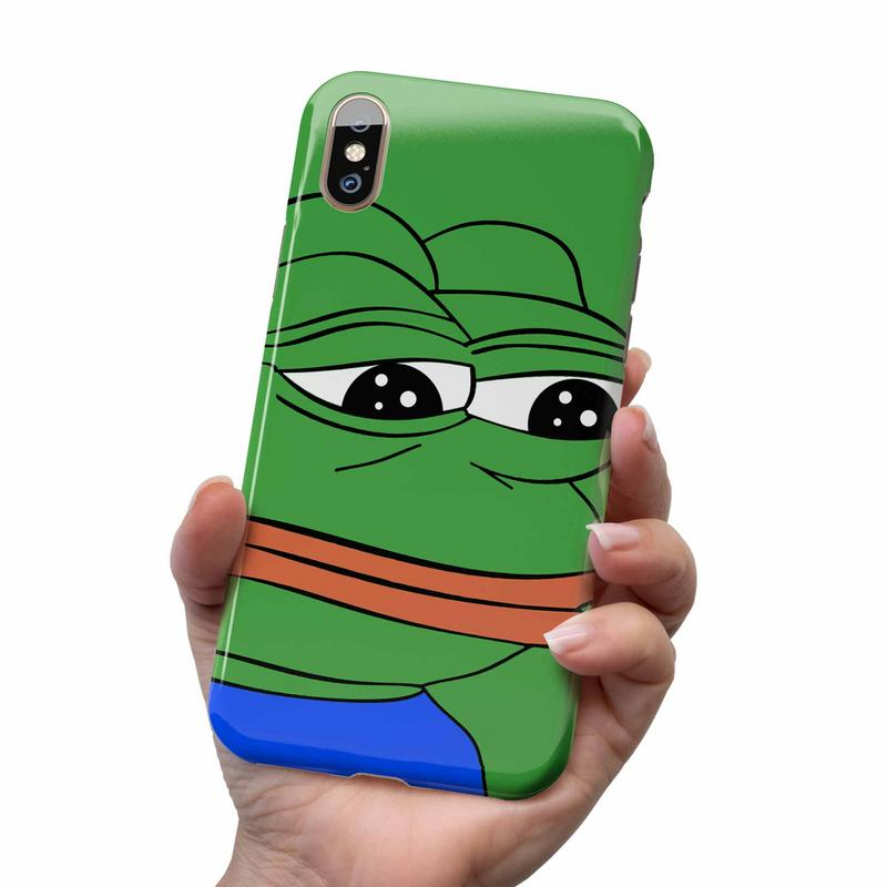 PEPE SAD FROG FEELS BAD MAN MEME PHONE CASE