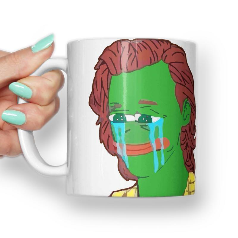 Harry Styles, Pepe sad frog meme Mug