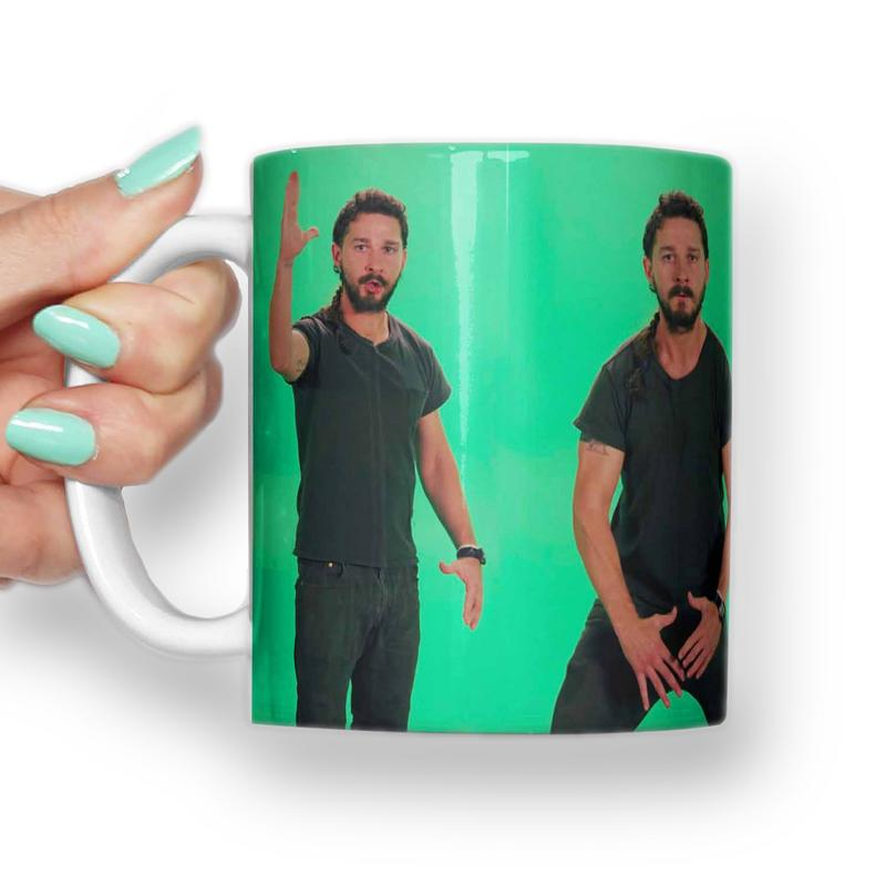 Shia Labeouf, Just do it Mug