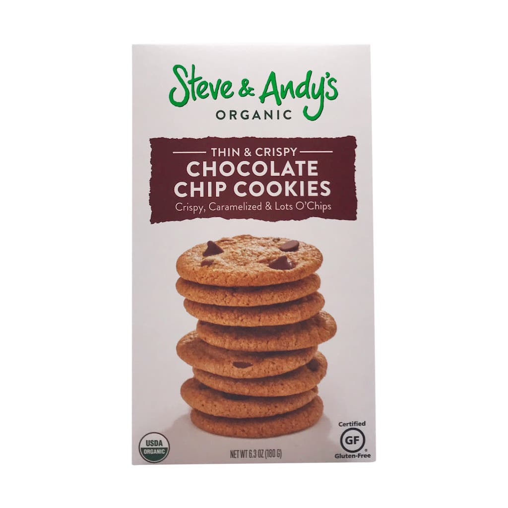Steve and Andy's Organic Chocolate Chip Cookies