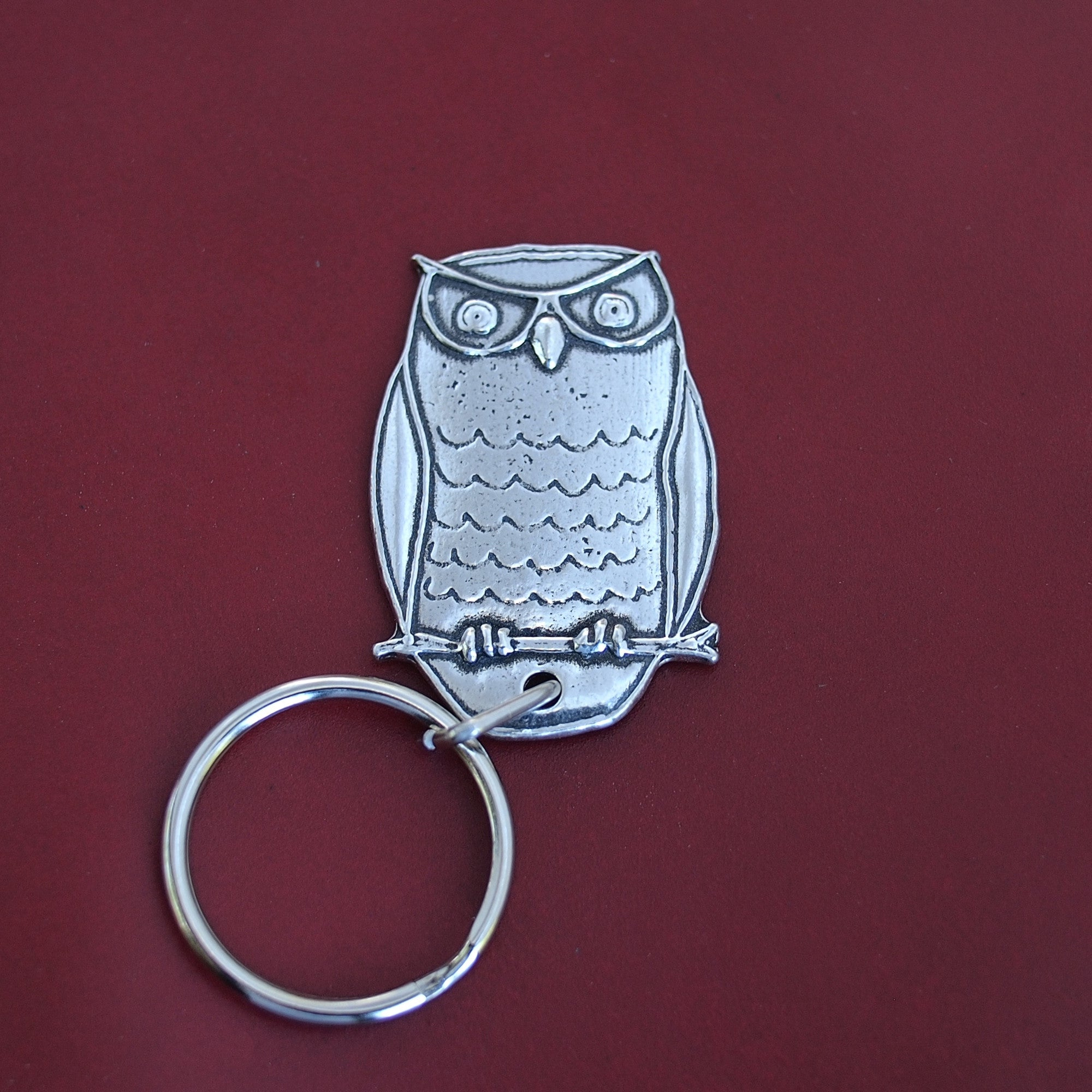 Cornelius the Owl Key Chain