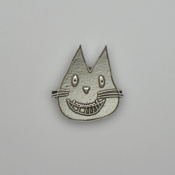 Leo the Cat, pewter magnet