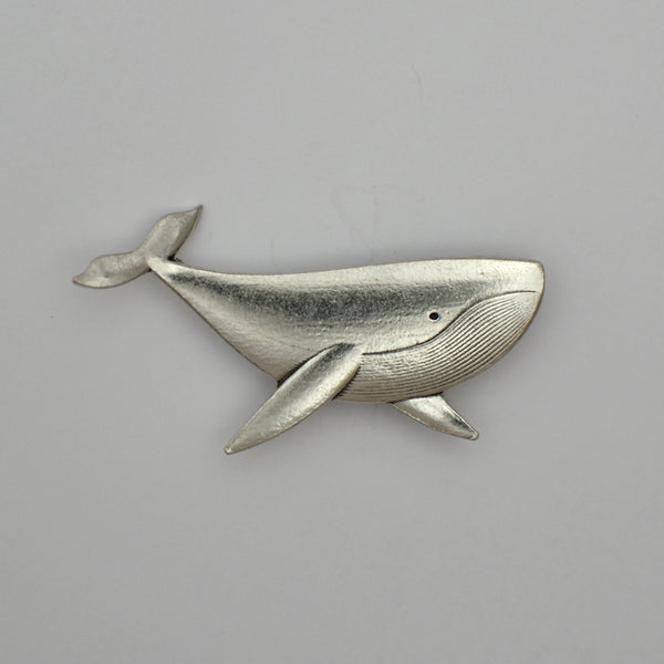 Gary the Whale, pewter magnet
