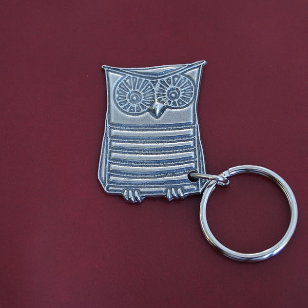 Wendell the Owl Key Chain