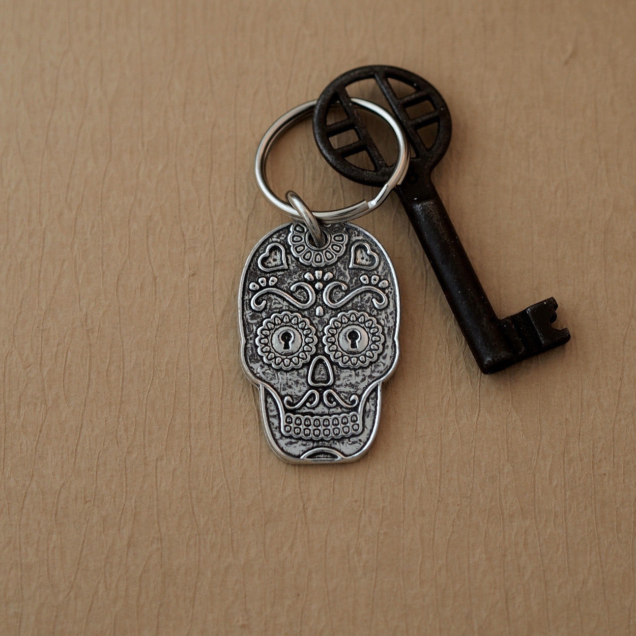 Sugar Skull Key Chain