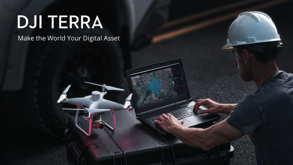 DJI Launches DJI Terra - New Software for 3D Modelling and Mapping
