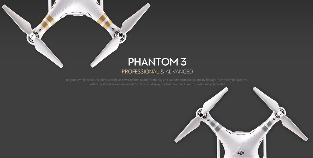 How To Choose Between The DJI Phantom 3 Standard, Advanced, and Professional Models