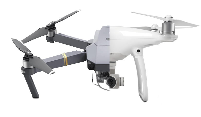 Mavic Versus Phantom 4: Is the Mavic For you?