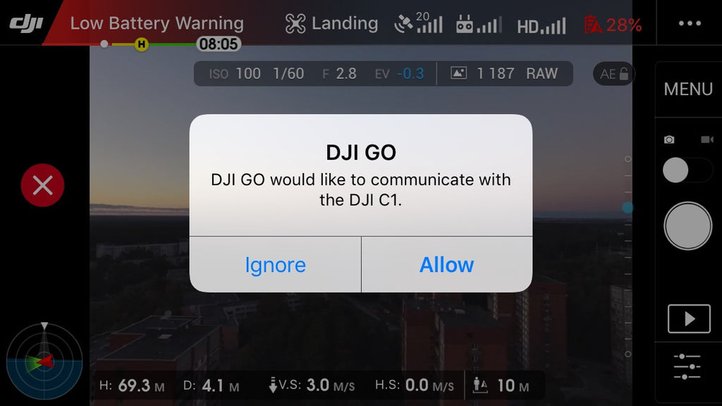 Launch the DJI Go App Easier From The Controller