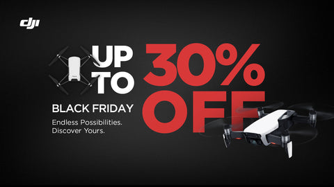DJI Black Friday Deals at Drone Shop Canada