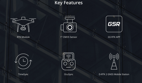 DJI Phantom 4 RTK Key Features