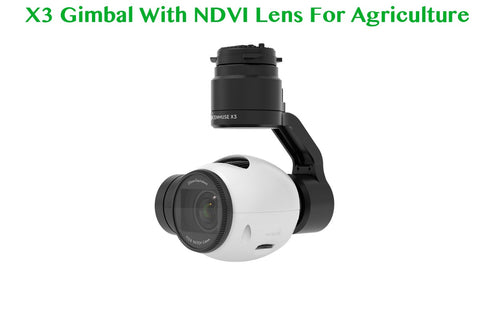 Agriculture NDVI Camera Lens Install For DJI X3 P3 P4 - Drone Shop Canada - Buy Custom UAV Packages