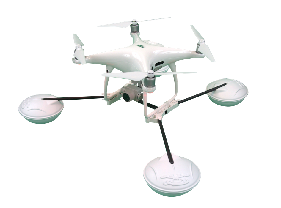 WaterStrider 2.0 Drone Raft - for DJI Phantom 3 (all) & Phantom 4 (std) - Drone Shop Canada - Professional UAV Sales Repair