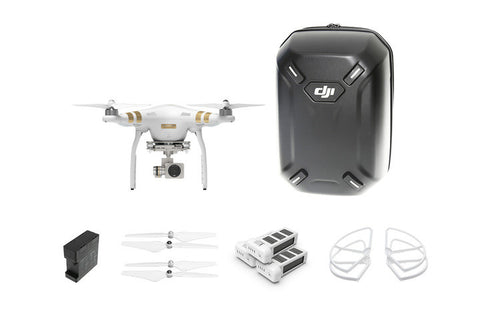 DJI Phantom 3 Professional Everything Combo - Drone Shop Canada - Buy Custom UAV Packages
