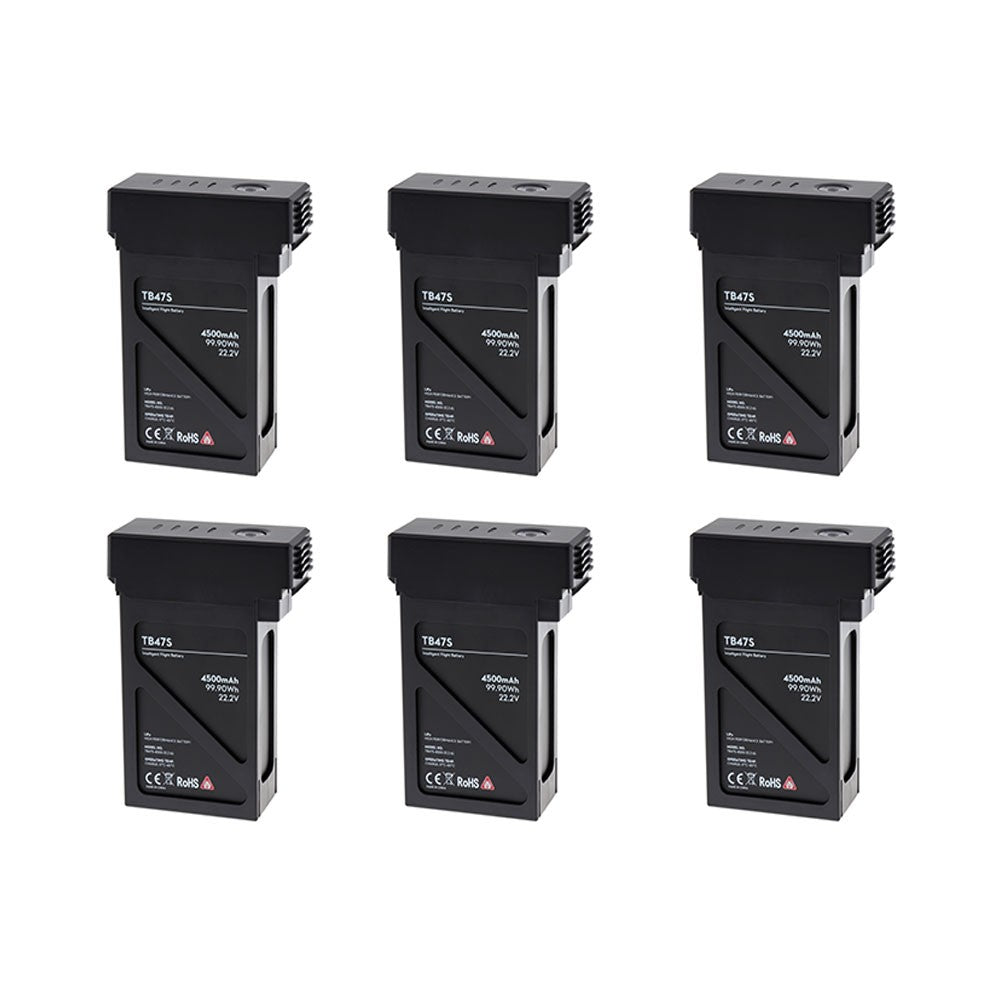 Matrice 600 Intelligent Flight Battery TB47S Combo (6 Pack) - Drone Shop Canada - Professional UAV Sales Repair