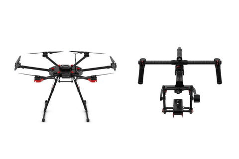 DJI Matrice M600 and Ronin-MX Package - Drone Shop Canada - Buy Custom UAV Packages