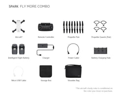 DJI Spark Drone Or Combo - Drone Shop Canada - Professional UAV Sales Repair