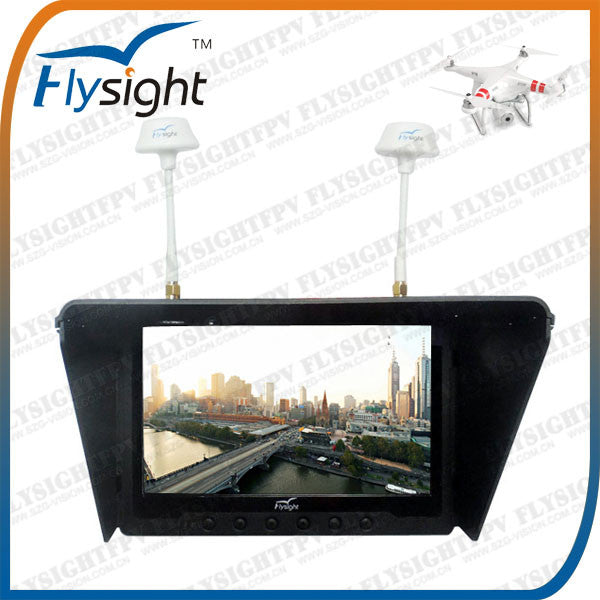FlySight or Black Pearl equivalent 5.8Ghz Diversity Monitor - Drone Shop Canada - Professional UAV Sales Repair