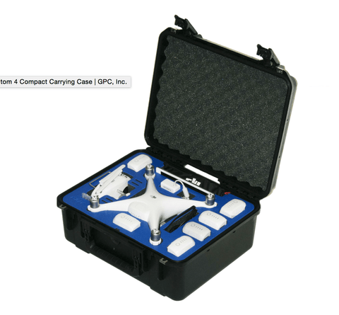 DJI Phantom 4 Compact Carry Case By GPC - Drone Shop Canada - Professional UAV Sales Repair