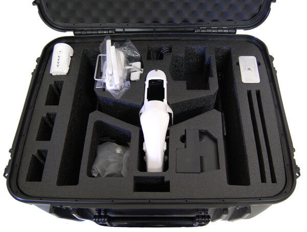 Microraptor Inspire 1 Landing Mode Rugged Case - Drone Shop Canada - Buy Custom UAV Packages