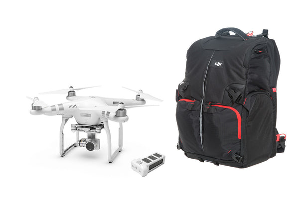 Phantom 3 Advanced, Battery and Manfrotto Backpack Combo - Drone Shop Canada - Buy Custom UAV Packages