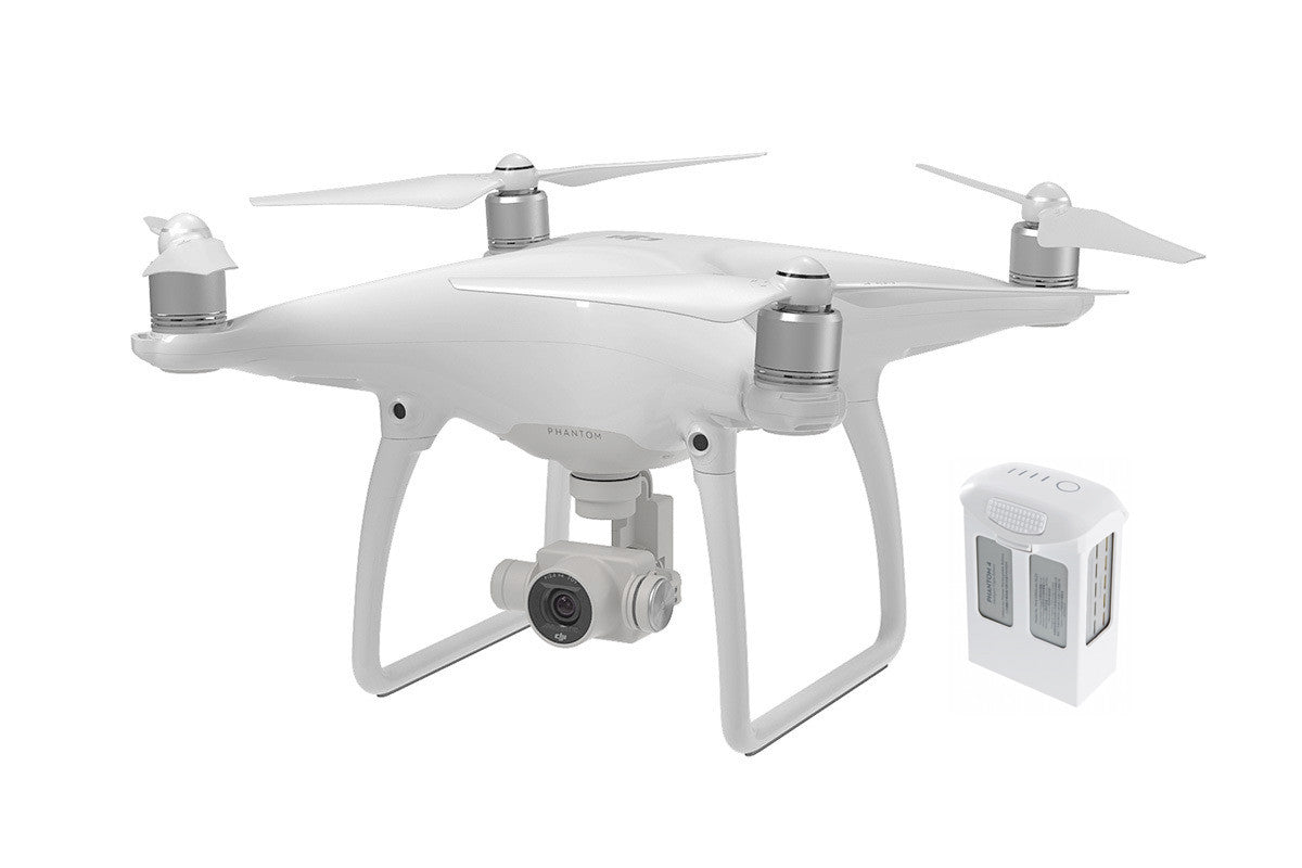 Phantom 4 With 1 Extra Battery - Drone Shop Canada - Professional UAV Sales Repair