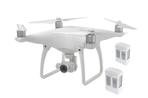 Phantom 4 With Dual (+2) Extra Batteries - Drone Shop Canada - Buy Custom UAV Packages