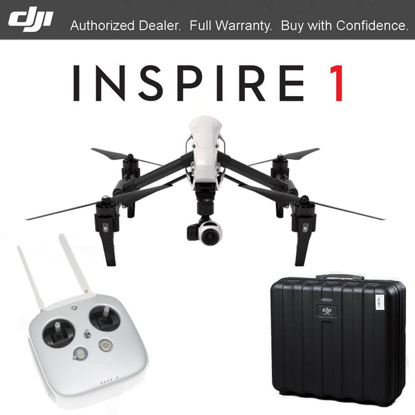 DJI Inspire 1 Dual Controllers + Second Battery Combo - Drone Shop Canada - Buy Custom UAV Packages