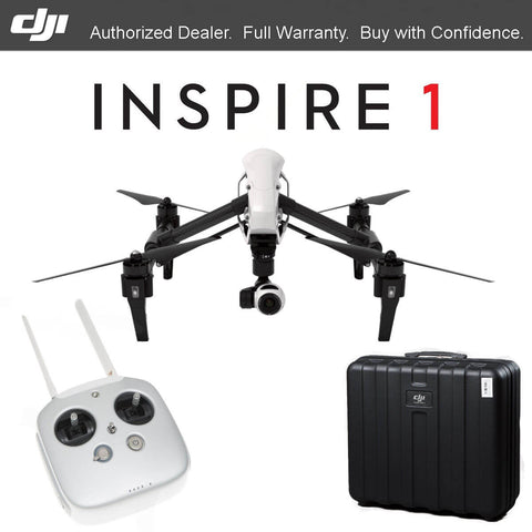 DJI Inspire 1 Dual Controllers + Second Battery Combo - Drone Shop Canada - Professional UAV Sales Repair
