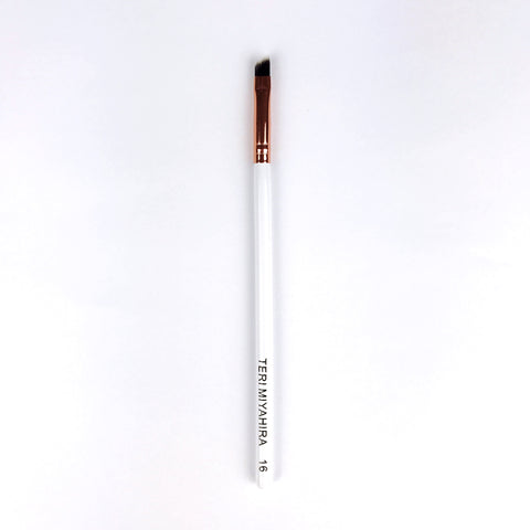 Vegan Angled Eye Brush 16 (Rose Gold)