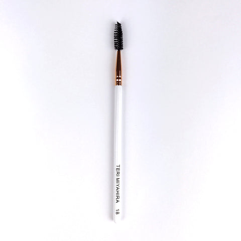 Vegan Spoolie Brush 18 (Rose Gold)