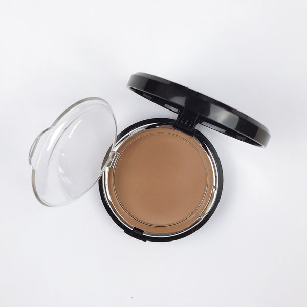 """BELIEVE"" Matte Bronze & Sculpt Pressed Powder"
