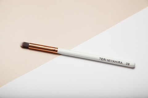 Vegan Eye Pencil Brush 09 (Rose Gold)