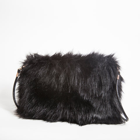 MONSTER Faux Fur Clutch