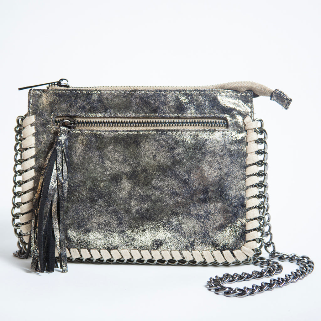 GALACTIC Small Crossbody Chain Bag