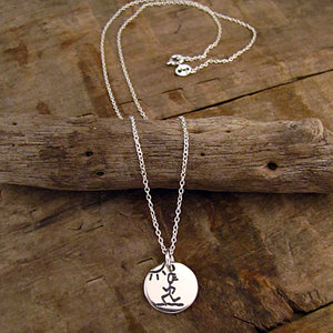 running charm jewelry for runners run necklace