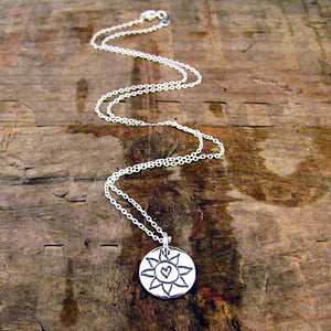 you are my sunshine charm necklace sterling silver by hanni