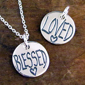 blessed charm daughter jewelry