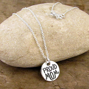 proud mom charm mothers day gift