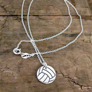 volleyball charm play pendant
