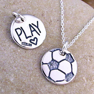 soccer necklace play