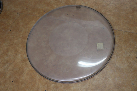 "Remo 30"" Controlled Sound Clear Dot Bass Drum Head"