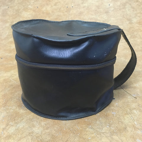 Vintage 8x10 Pleather Drum Bag
