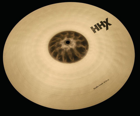 "Sabian HHX 18"" Studio Crash Cymbal Brilliant *New With 2 Year Warranty*"