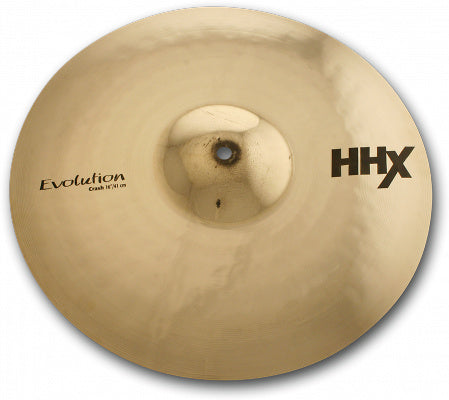 "Sabian 11806XEB 18"" HHX Evolution Crash *New* With 2 Year Warranty"