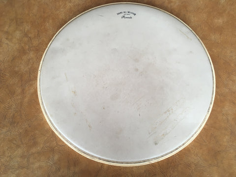 "Vintage Evans 16"" All Weather Parade Drum Head"