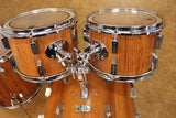 Vintage 60's/70's Sonor 4pc Super Champion Rosewood Drum Set Kit