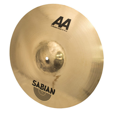 "Sabian  16"" AA X-Plosion Crash Brilliant"