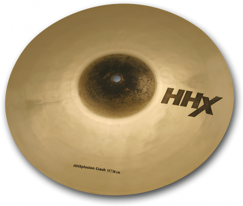 "Sabian 15"" HHX X-Plosion Crash Cymbal Brilliant  W/ 2yr Warranty"